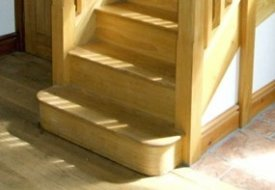 Bullnose and D-end steps