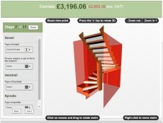 Design your own stairs with the StairCreator