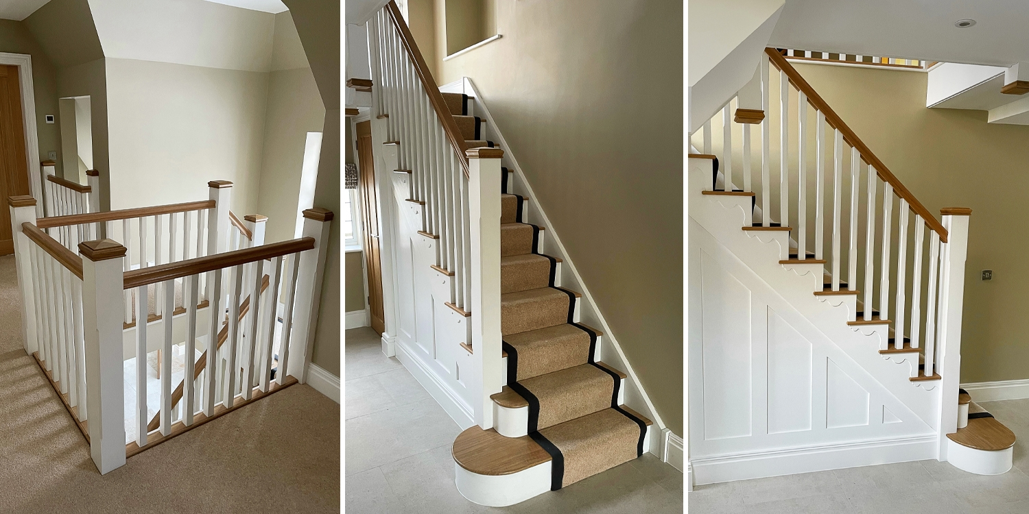 pear stairs bracket molding,