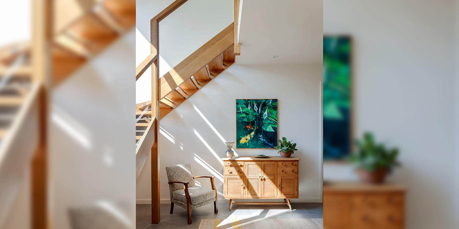 grand designs staircase, staircase on grand designs, pear stairs, 2019 staircase