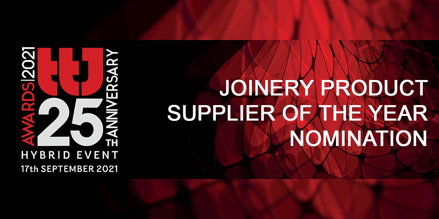 Pear Stairs Nomination for Joinery Product Supplier Of The Year.