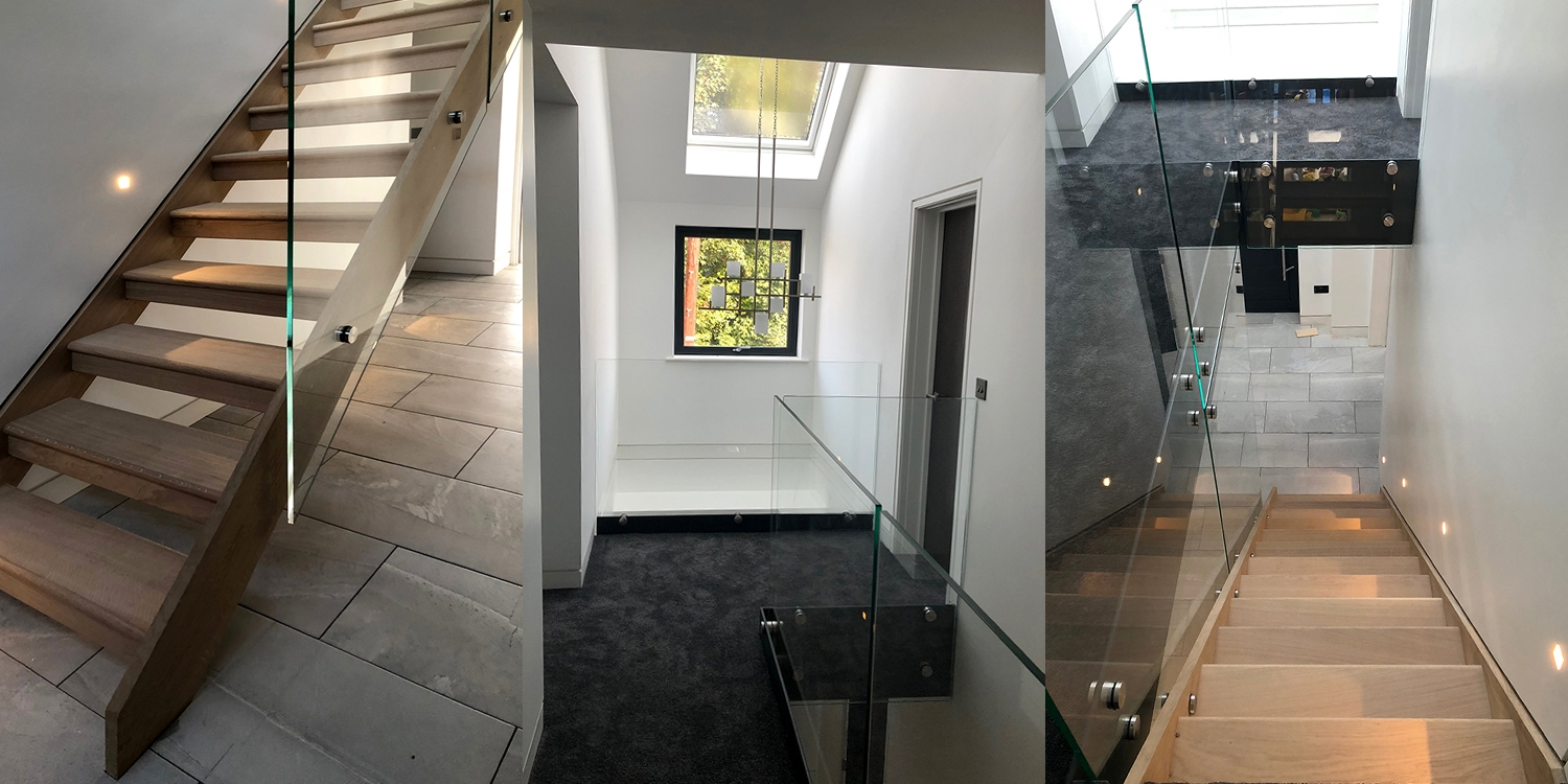 Modern staircase for a modern home