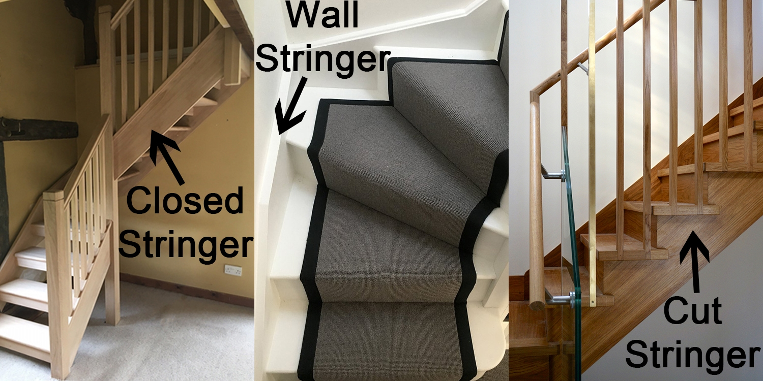 bespoke staircase design, staircase stringers, online staircase design