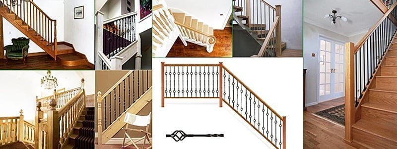 Spindles by Pear Stairs