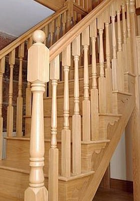 Wooden Stair Balusters Cast Iron Amp Metal Staircase