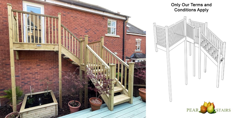 external staircase, outdoor staircase, staircase design ide