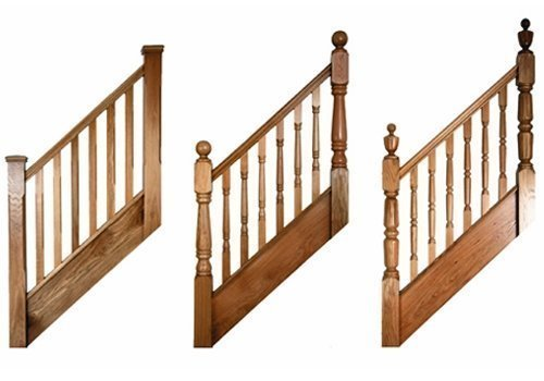 Fernhill balustrades supplied by Pear Stairs
