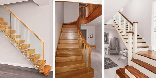 Three staircases by Pear Stairs