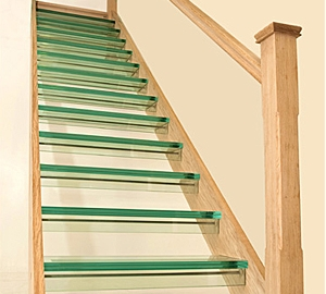Glass staircase by Pear Stairs, case study 149
