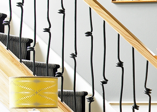 Spiral metal spindles from the Elements range