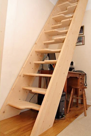 Space saver stairs - case study 33