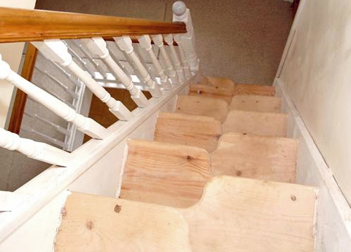 Space saver stairs - case study 34