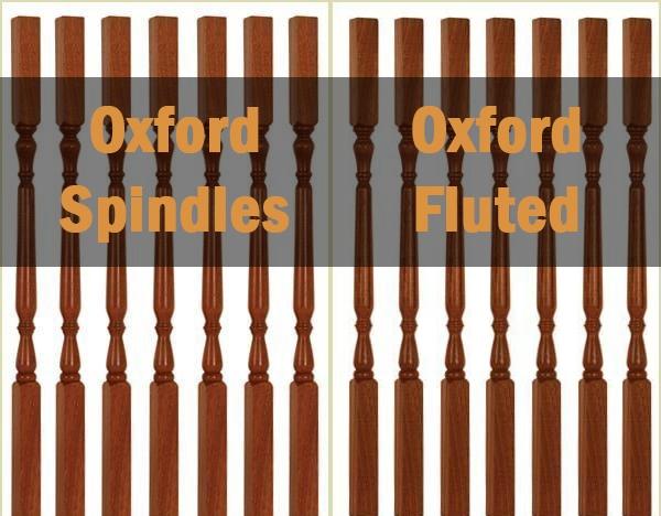 Oxford spindles, fluted spindles, buy online