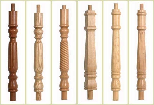continuous handrail newel, newel post options, newel posts