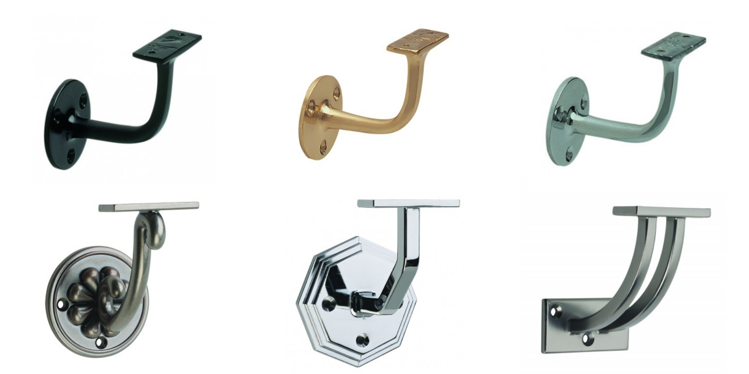 handrail brackets, pear stairs, wall mounted handrail
