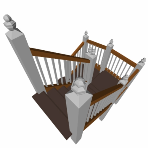 staircase cad, designing stairs