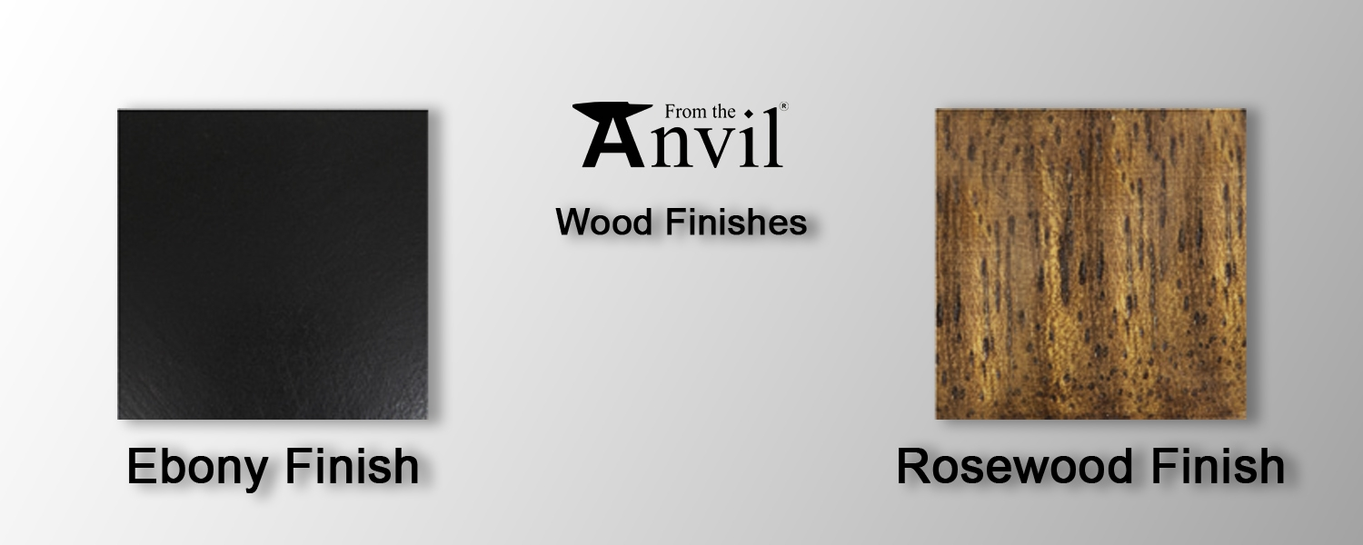 Wood finishes from the anvil at pear stairs