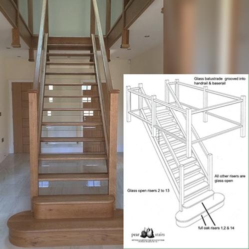 Glass Staircase Shropshire