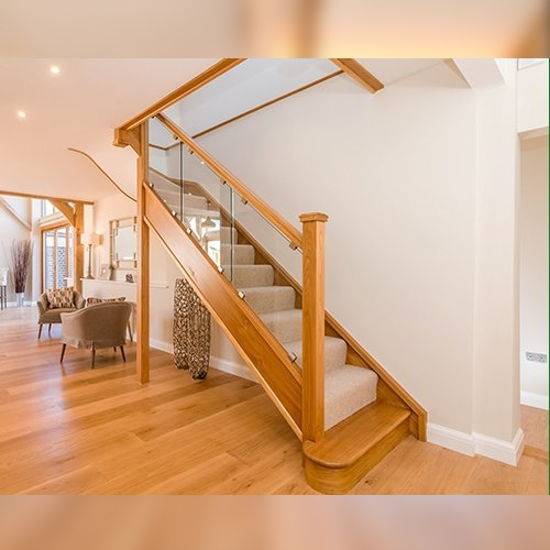 Glass staircase, staircase design, online staircase