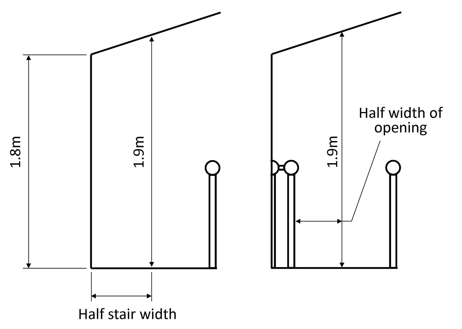 loft conversion staircase, loft conversion regulations, pear stairs