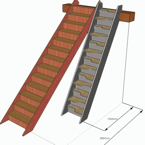 Space Saving Staircase Designs: Space Saver Staircases & Space Saving Spiral Stairs UK