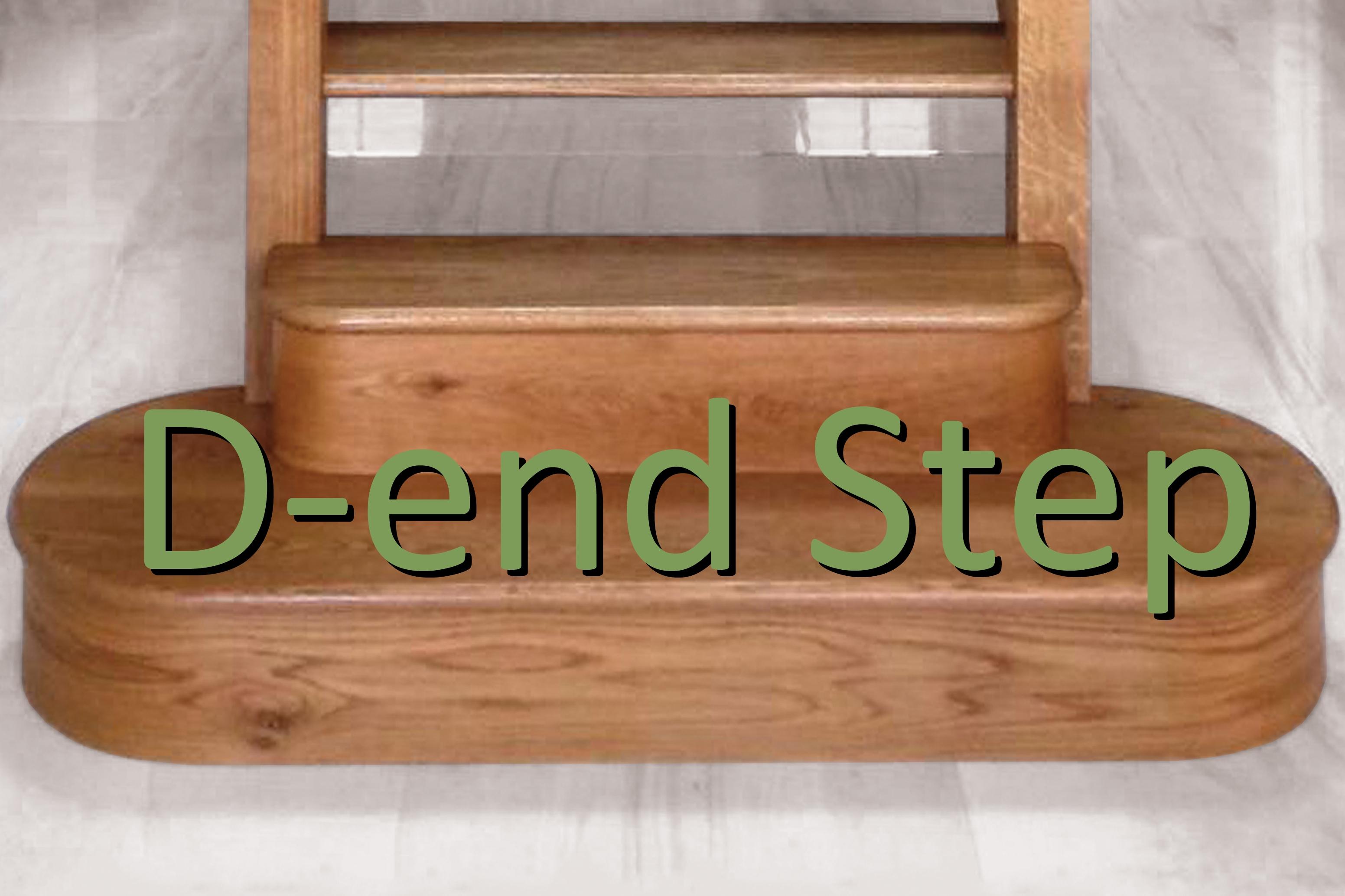 D-end step