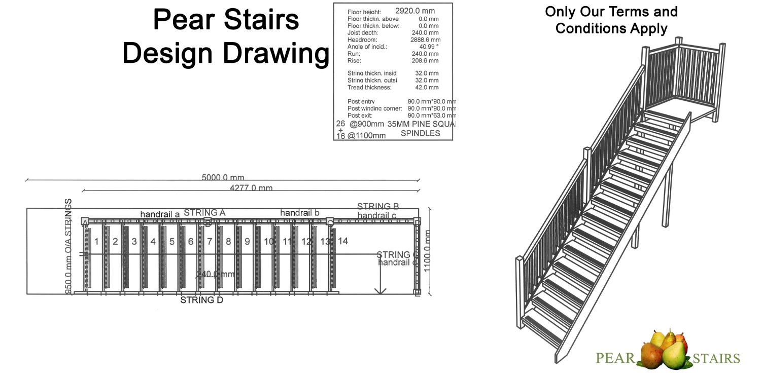 staircase design, staircase drawings, design drawings