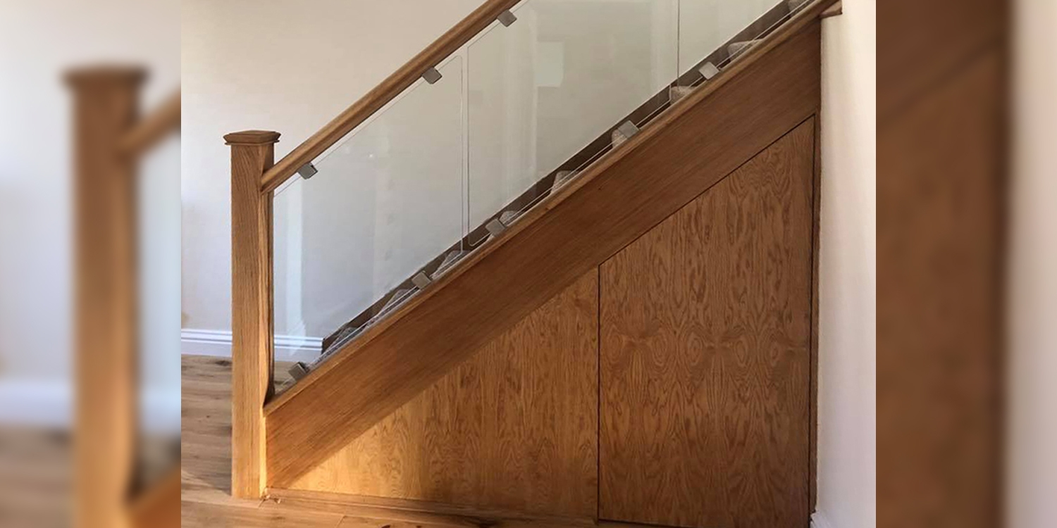 oak staircase, understairs, pear stairs