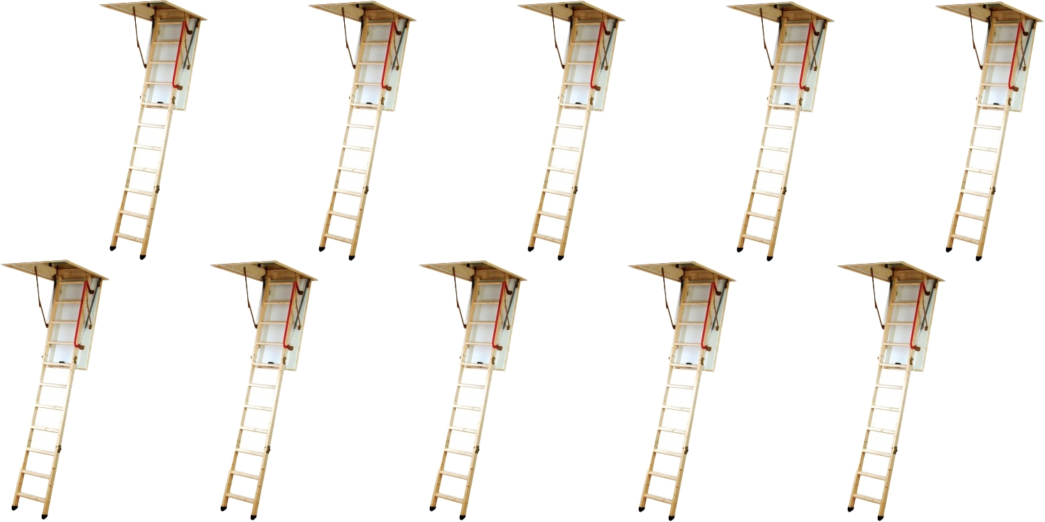 folding staircases, folding stairs,