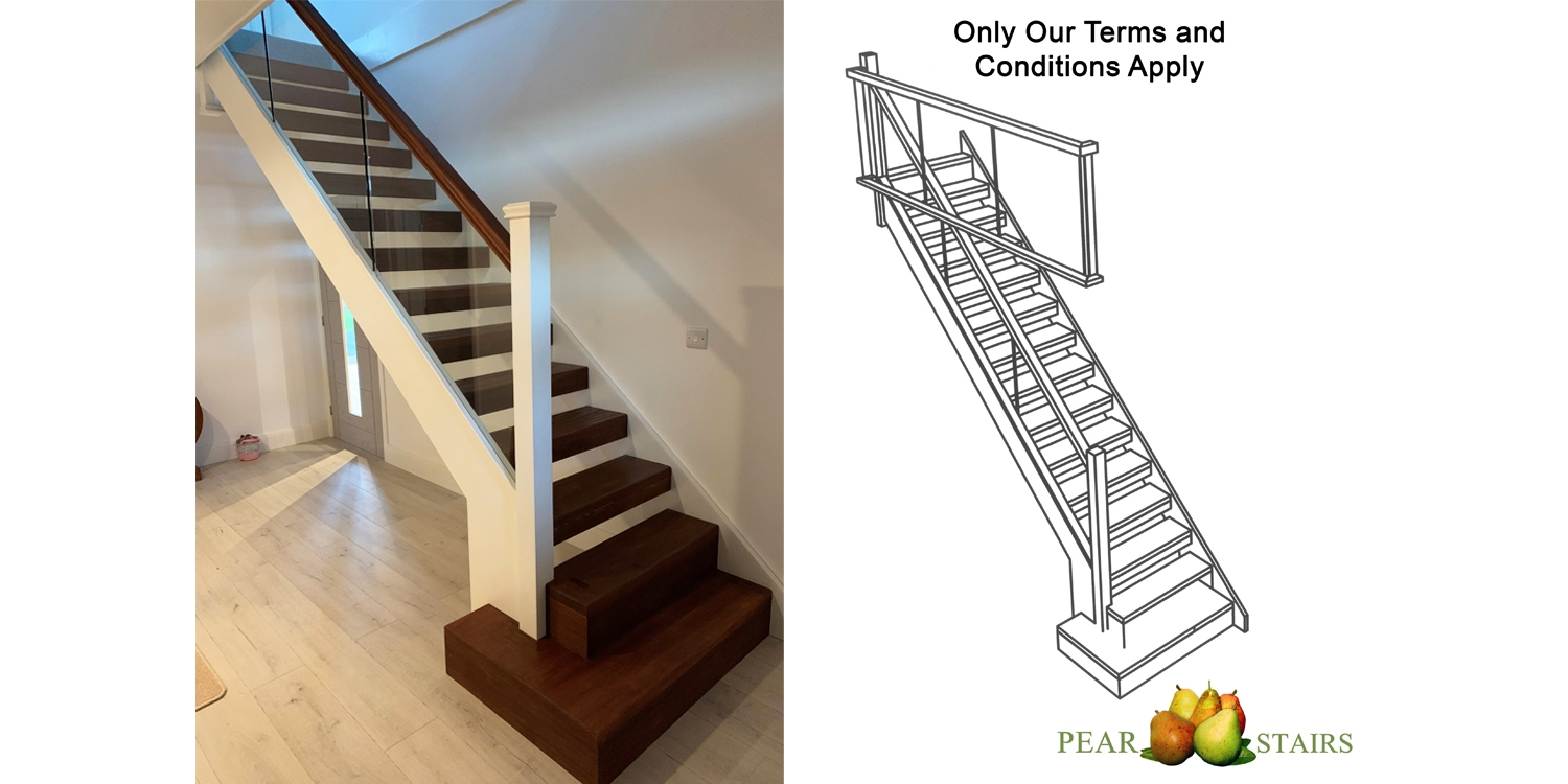 modern staircase design uk, stair parts uk