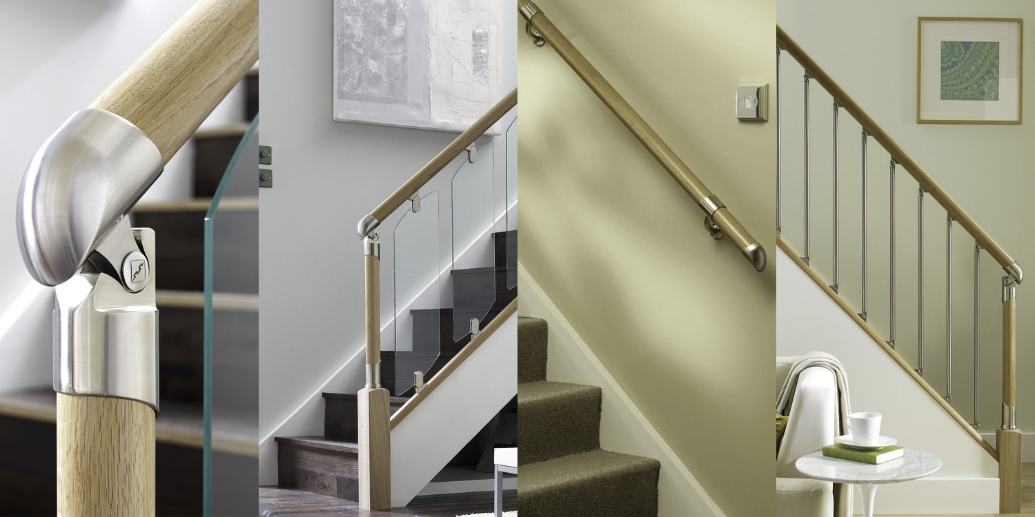 Richard Burbidge Fusion range at Pear Stairs, fusion stair parts
