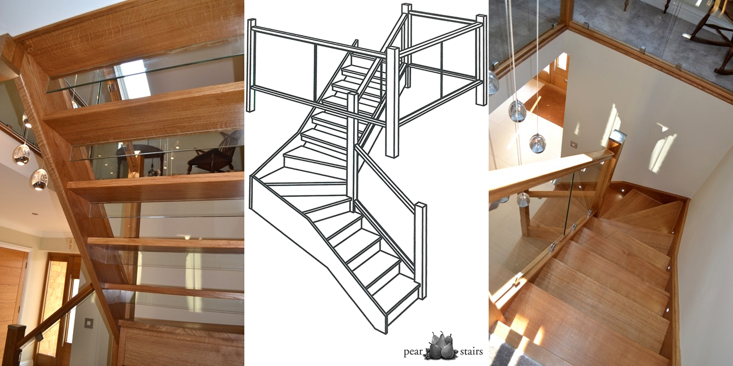 Modern staircase, modern glass staircase, staircase online uk
