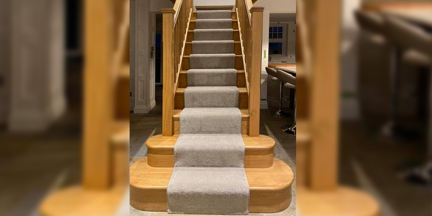 t shaped staircase, feature step, staircase company, pear stairs