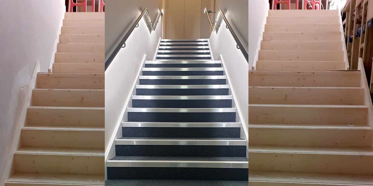 Commercial Staircase by Pear Stairs in London