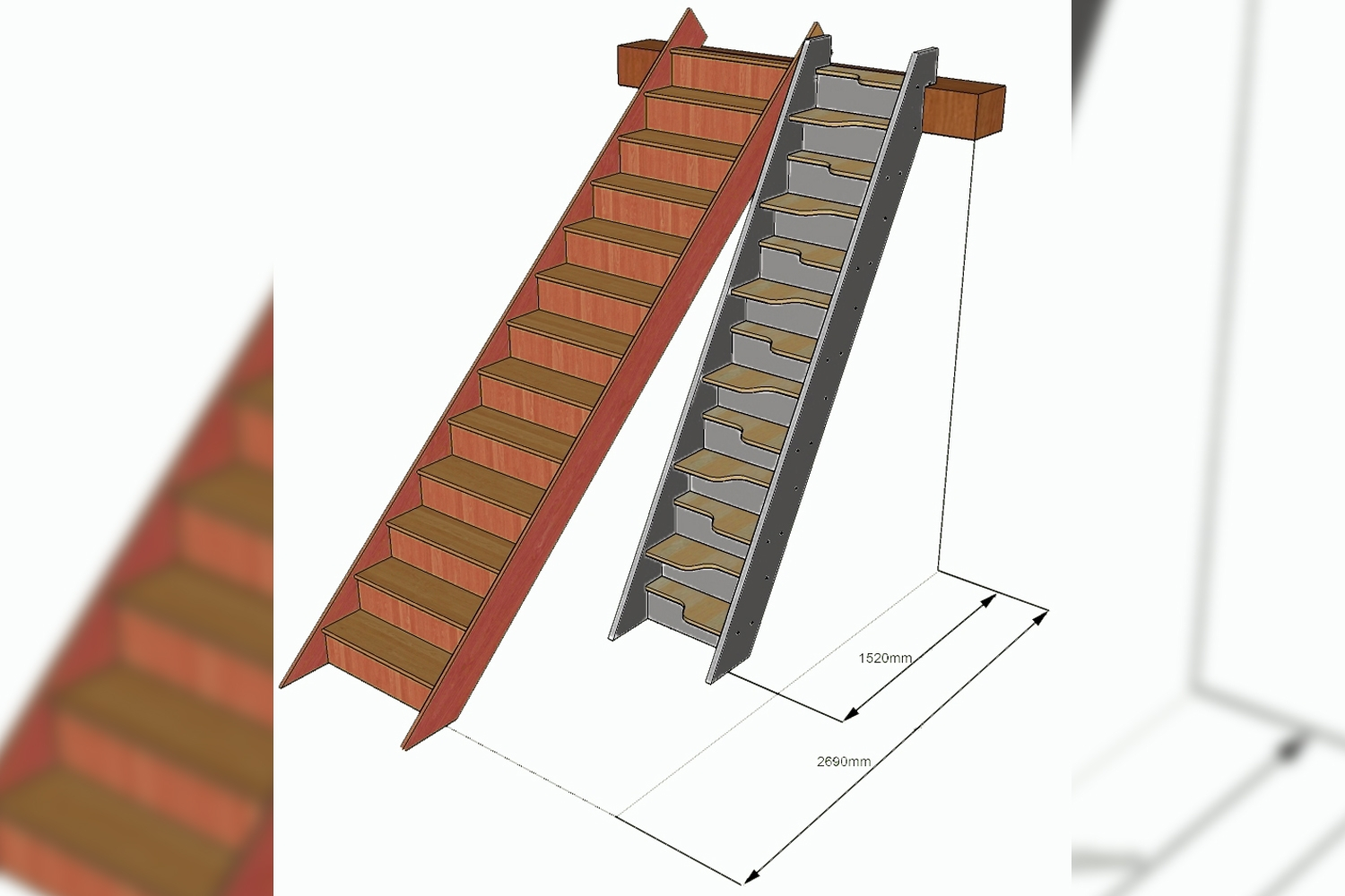 paddle stairs, apace saver, staircase