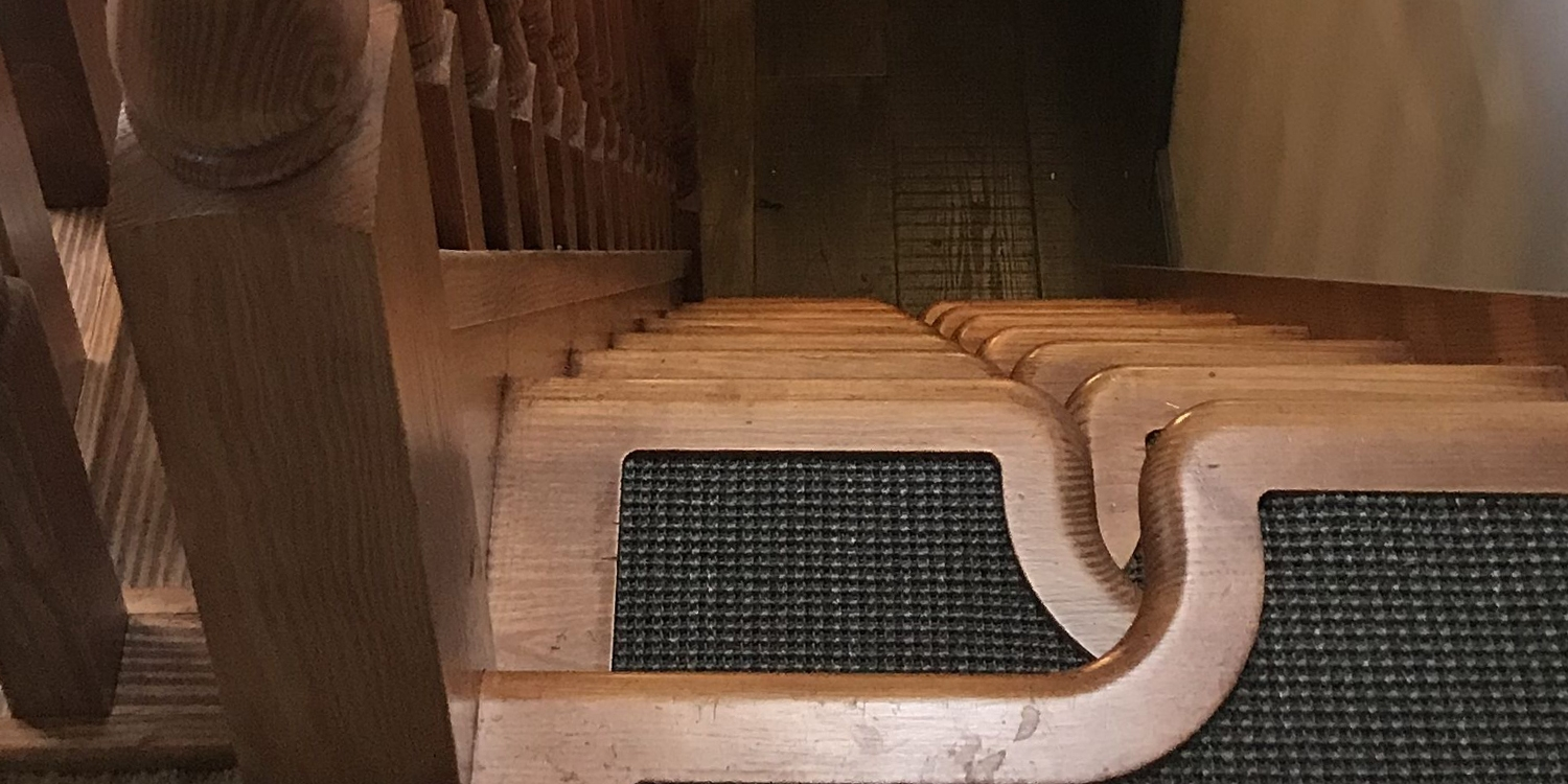 paddle staircase treads, pear stairs, every other stairs