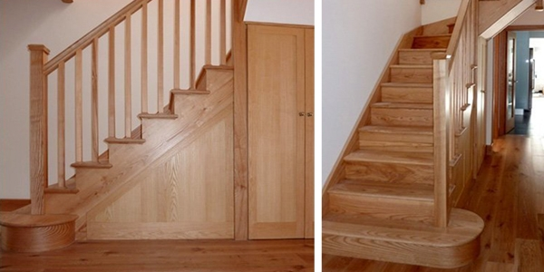 Interior timber staircase, timber staircase, Prestwood, Buckinghamshire, staircase design, online staircase