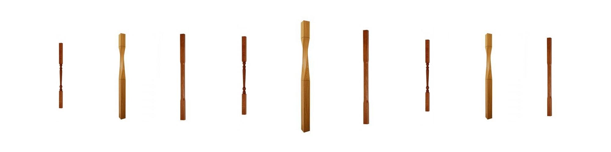 Softwood & Hardwood spindles