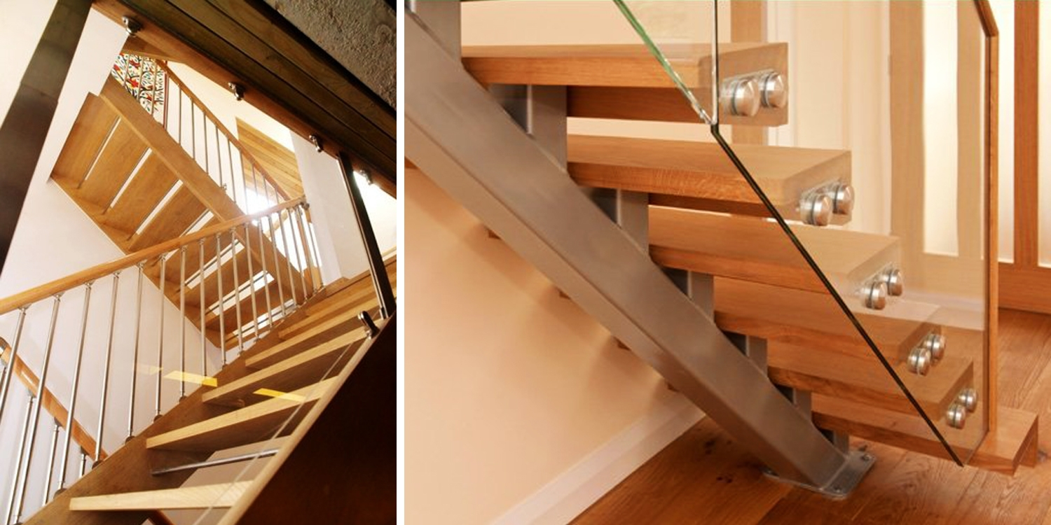 Open riser, staircase, modern, contemporary design, online, stairs