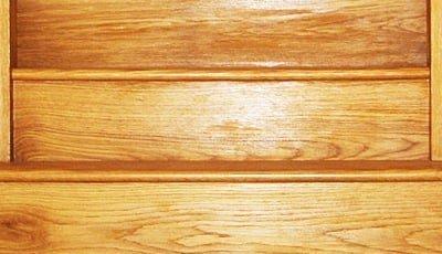 American white oak stairs