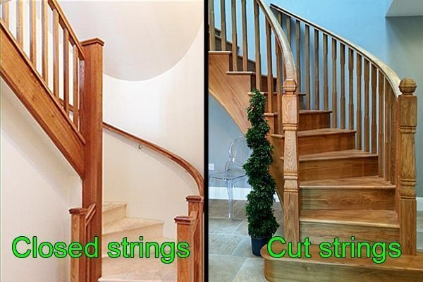 Curved staircases by Pear Stairs
