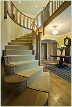 Curved Staircase from Pear Stairs