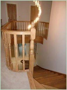 curved balustrade