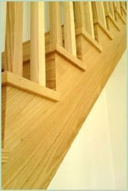 Cut string curved Staircase