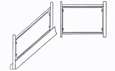 Glass clamp positions