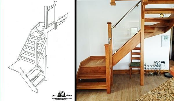Garthmyl staircase