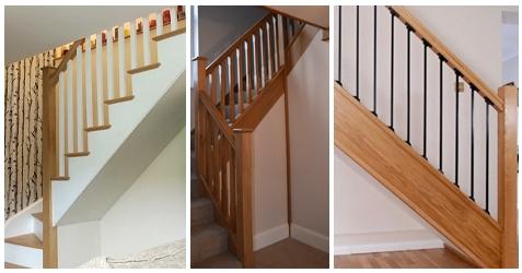 various balustrade styles
