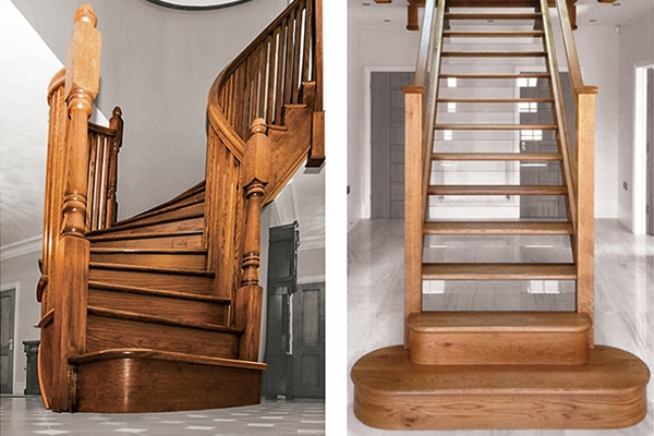 various balustrade styles for stairs and landings