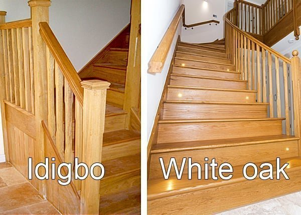 Delightful Great Prices. Idigbo And Oak Stairs