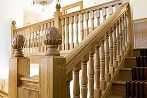 Stairs in European oak by Pear Stairs